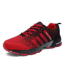 Mens Casual Sports Shoes Outdoor Jogging Running Sneakers Comfy Training Flats
