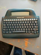 Alphasmart 3000. Portable Laptop Keyboard Word Processor. No USB Cable/Batteries