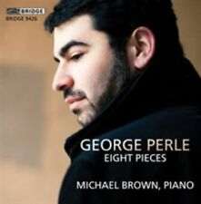 George Perle Eight Pieces Michael Brown piano 2014 Bridge CD NEW
