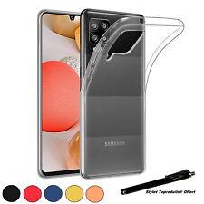 Coque de protection silicone souple pour Samsung Galaxy A22 4G