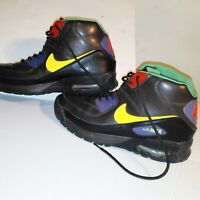 *RARE*NIKE-AIR-MAX-90-Men's size 11.5 SNEAKER-BOOTS-BROWN-LEATHER-316339-271