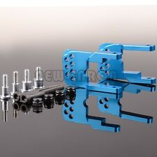 RC Car BLUE Aluminum Rear Damper Shock Mount For GPM TAMIYA CC01 CC-01 #CC030M