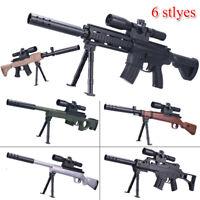 Plastic Mini Rifle Toy Soft Crystal Ball Water Bullet Toy Gun Gel Blaster Gifts