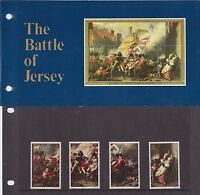 JERSEY PRESENTATION PACK 1981 THE BATTLE OF JERSEY STAMP SET 10% OFF ANY 5+