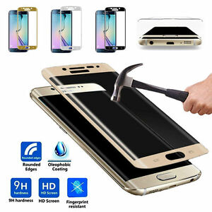 NEW MINI 4D CURVED TEMPERED GLASS SCREEN FOR ALL SAMSUNG GALAXY MODEL bundled
