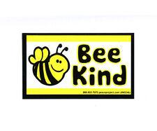 MS245 - Bee Kind Mini Bumper Sticker MAGNET VERSION