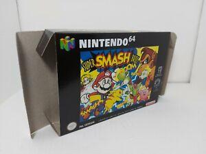 Super Smash Bros  - PAL - Only Box- N64 - Nintendo 64