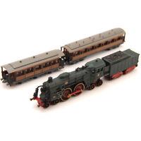 ATLAS 1/220 Minitrain Rail Steam Classic Trains Pocket Model Set Child Toy Gift
