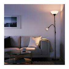 PIANTANA NOT IKEA LAMPADA DA TERRA/LETTURAPIANTANA NOT 174CM NERA LUCE INDIRETTA