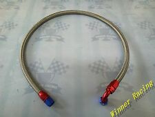 AN10 Stainless Steel Braided Hose & Fitting Hose End Adaptor Kit Fit Oil Cooler