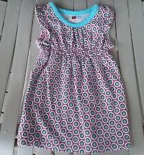 Tea Collection Baby Girls Size S 6-12 months Pink Blue Floral Dress  Summer