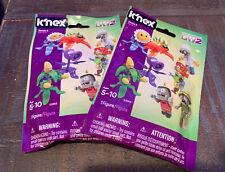 Knex Series 6 Plants vs Zombies Blind Bag 2x LOt (B)