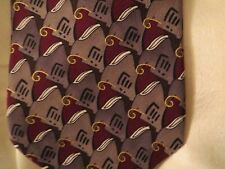 Jerry Garcia Silk Tie - Wired Crossroads - 1996 Estate of  Jerome Garcia-Collect