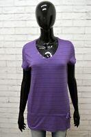 Maglia CHAMPION Donna Taglia M Maglietta Blusa Shirt Woman Cotone Manica Corta