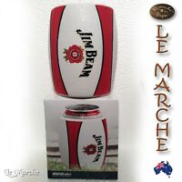 Collectors JIM BEAM Football Material Stubby Can Holder BRAND NEW Boxed