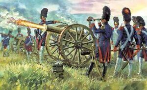 Italeri 1/72 Napoleonic French Imperial Guard Artillery # 6135