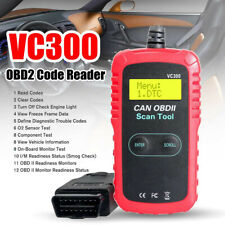 EOBD OBDII Car Scanner Code Reader Auto Fault Engine Diagnostic Reset Tool VC300
