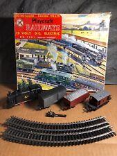 """Vintage Playcraft   Electric Train Set   12V   Made in France   """"Broad Street"""""""