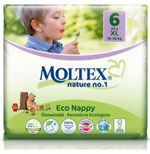 Moltex Couches Taille 6 XL Biodégradable (16 à 30 kg) 22 couches