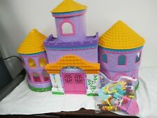 DORA MAGICAL CASTLE WITH ACCESSORIES FURNITURE FIGURES MATTEL