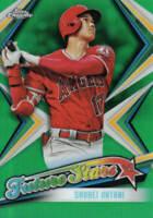 SHOHEI OHTANI 2019 Topps Chrome FUTURE STARS GREEN REFRACTOR Card# FS-1 #'d /99