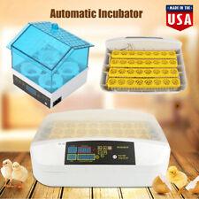 New Bird 32 Egg Automatic Digital Turning Incubator Chicken Hatcher Temperature