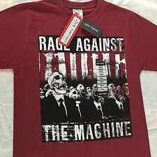 RAGE AGAINST THE MACHINE T-Shirt Men's Size Small Official Live Nation Tee NWT