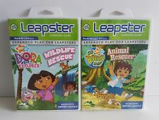 Leapster Pair - DORA Wildlife Rescue & Go DIEGO Go Animal Rescuer - LEAP FROG