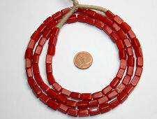 Alte böhmische Quader Glasperle trade beads