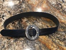 Fabulous Distinctive Design by Gilles Herve Paris Leather Belt Made in France