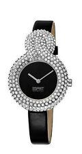 Esprit Armbanduhren mit Armband aus echtem Leder für Damen