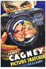 PICTURE SNATCHER Movie POSTER 27x40 James Cagney Ralph Bellamy Patricia Ellis