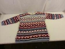 Hipster Vintage Explosive Clothing Inc Woman's Sweater USA 100% Cotton Small