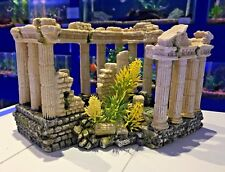 Large Grecian Ruin Columns Aquarium Ornament for Fish Tanks MS336