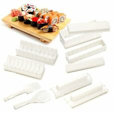 10pcs Sushi Maker Kit Arroz Rollo Molde Cocina Diy Easy Chef Set Rodillo