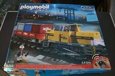 Playmobil 5258 Eisenbahn Lok Schienen