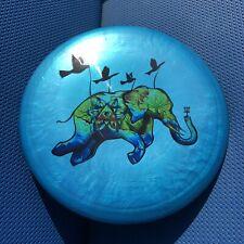 Rare Lava Flow, Flying Elephant Gold Line Pain 175 g Latitude 64 Disc Golf OOP