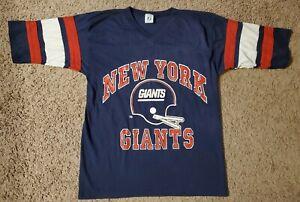 Vintage NY Giants Shirt Medium Logo 7 Atheltics