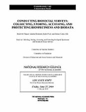Conducting Biosocial Surveys: Collecting, Storing, Accessing, and Prot-ExLibrary
