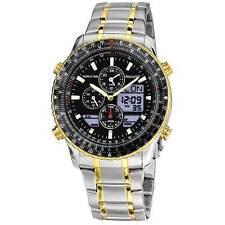 Accurist Stainless Steel Case Wristwatches with Chronograph