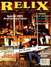 The Allman Brothers Band Relix Magazine August 1993 Pigpen Tribute Blues Travele