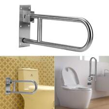 Folding Handicap Grab Bars Rails Toilet Handrails Bathroom Support Safety Rail