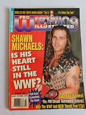 Pro Wrestling Illustrated Magazine Shawn Michaels Vader The Giant POSTER WWE WWF