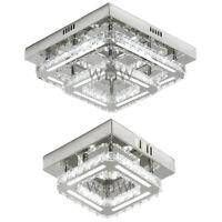 Moderne Véritable K9 Cristal LED Chasse Plafonnier Luminaire Éclairage Lustre