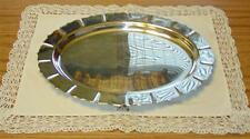 """VINTAGE EARLY AMERICAN INTERNATIONAL SILVER COMPANY 16"""" SERVING PLATTER #4182"""