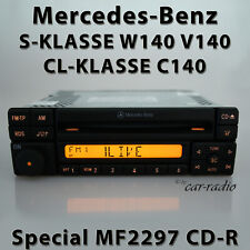 Original Mercedes Special MF2297 Cd-R W140 Radio S- Cl- Class C140 Car Radio