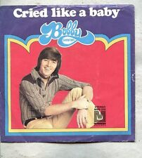 VINYL 45 Picture Sleeve Bobby Sherman - Cried Like A Baby Metromedia Records