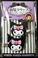 SANRIO Kuromi hair clip accessory relief item 2 pieces set