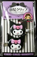 Sanrio Kuromi Hair Clip Accessory Relief Item 2 Pieces Set