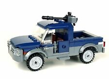 Mercenary Technical Gun Truck made with real LEGO® bricks and minifigures
